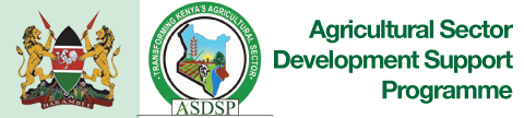 Agriculture Sector Development Support Programme (ASDSP)